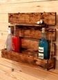 Oldwooddesign Burma Şaraplık Raf Renkli